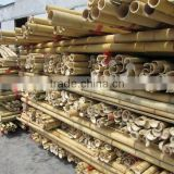 Half Round Split Bamboo Slat for Home and Garden decoration