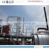 environmental Distillation equipment for pyrolysis oil refining from waste tyres