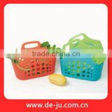 Plastic Colorful Wholesale Basket In Bulk