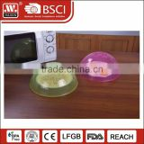 OEM microwave plate cover oven plastic cover for food heating cover wholesale