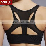 Custom women's made sports yoga bra with special design and top quality material