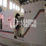 Rolling vacuum coating machine