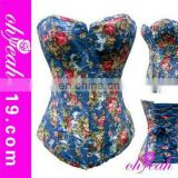 New arrivals bright colored corsets 2014