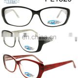 2017 Newest Style Beautiful Clear Plastic Eyeglass Frame(PL1529)