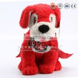 Customized design OEM plush stuffed barking dog puppy toys