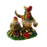 2016 New Two rooster cheap jewelry trinket box