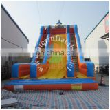 Giant inflatable clown slide, inflatable clown air slide, clown inflatable slip slide