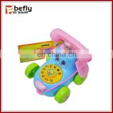 Cartoon plastic toy telephones for children