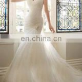 fairy tale ruched beautiful dream bridal gown