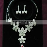 Anniversary Fashion Leaf Costume African Jewelry Sets