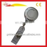 Hot Sale Round Metal Retractable Reel Badge Holders