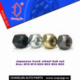 Truck Wheel Hub Stud Nut for Japanese Trucks