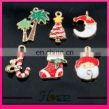 hma004 Christmas hat santa sock pendant rhinestone pendant for Christmas