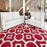 geometric custom size living room rugs (CR13)