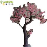 Guangzhou Factory 3m Artificial Peach Blossom Flower Tree for Wedding Decoration