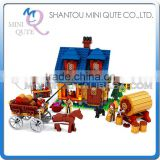 Mini Qute DIY farm farmer make wine brew beer factory house action figure plastic building block educational toy NO.28704