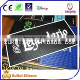 customized hot sell bar runner rubber bar mat