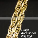 19.3*14.1mm Unique designs various shape metal aluminum curb twisted chain