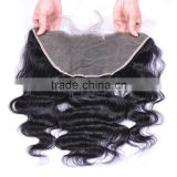 Alibaba China Factory Human Hair Lace Closure Top Quality Lace Frontals 13X6 Size Lace Front Closure