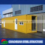 Hight Quality luxury container house from steelvilla for home and office,35 square meter
