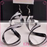 Beautiful Earring Designs For Women Personalized Design Long Spiral Shaped Cute Girl Fashion earrings