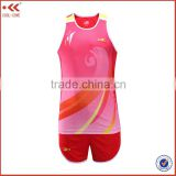 Training & Jogging Wear custom sleeveless new design track suit athletics team uniform jogging suits wholesale