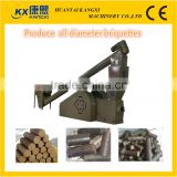 24 hours continue working wood sawdust briquette machine and biomass briquette machine with CE certificate