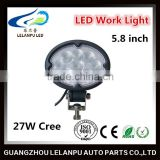 Automotive light 9-32V 27w led work light for trucks led truck light led head light 27W led driving light