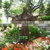 Bronze religious statue of Jesus Christ