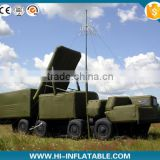 Inflatable Vehicle Military Decoy Illuminate guidance radar vehicle