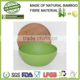 Have a lid bowl,Natural degradation bamboo fibre Salad bowl                                                                         Quality Choice