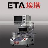 Factory price ! Laser soldering machine ETA-R6110 BGA Rework station with optical alignment system