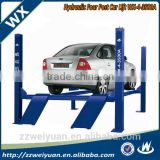 China Popular WX-4-3500A Four Post Car Lift for Sales ,Used 4 Post Car Lift for Sale, car hoist 4 post portable