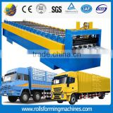refrigerated small trucks/refrigerated van truck aluminum cargo van body forming machine