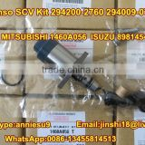 Denso Suction Control Valve/SCV Kit 294200-2760 294009-0740 for MITSUBISHI 1460A056 I S U Z U 8981454550 8-98145455-0