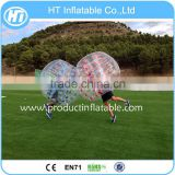 Low Price 1.5M TPU Popualr Sports Product Bubble Soccer Suit,Inflatable Human Hamster Ball