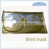 Collagen Crystal breast mask for breast enhancement