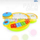 Baby plastic battery operated toy cool hand pat baby drum toys