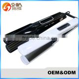 China professional digital lcd and led display flat iron ultrasonic infrared cold plate hair straightener 008