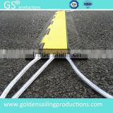 Rubber PVC rubber road cable protector ramp for outdoor & indoor events                                                                         Quality Choice