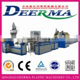 PVC braided soft hose making machine/extrusion line
