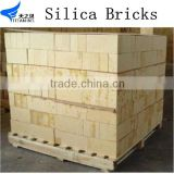 glass furnace refractory brick silica brick for hot blast furnace silica fire brick and Mortar in china factory henan