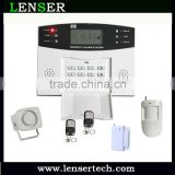 Auto dial telephone landline alarm system pstn Wireless Security Alarm Systems with 108 zones LCD Display