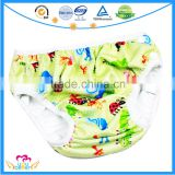 New Pattern Baby Swim Cloth Diapers Washable Reusable Swimsuits Infant Swimwear