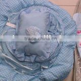 Foldable Musical Baby Mat with Pillow, Mosquito Net