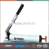 Manual industrial-grade, hand-held pneumatic grease gun, bursts of high pressure handle lithium grease