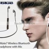New Blutooth Headset Fineblue Mate7 Stereo Blutooth Headset Wireless Headphone Answer Call Listen Music Sport Headset