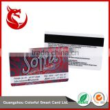 Standard size ROHS certification double side printed thick plastic frosting pvc business cards