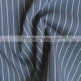 rayon nylon spandex blend stripe fabric bengaline/tussores/grosgrain high stretch twill fabric for trousers and pants