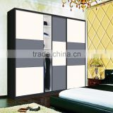 china new model hotel double color wardrobe design latest furniture bedroom set